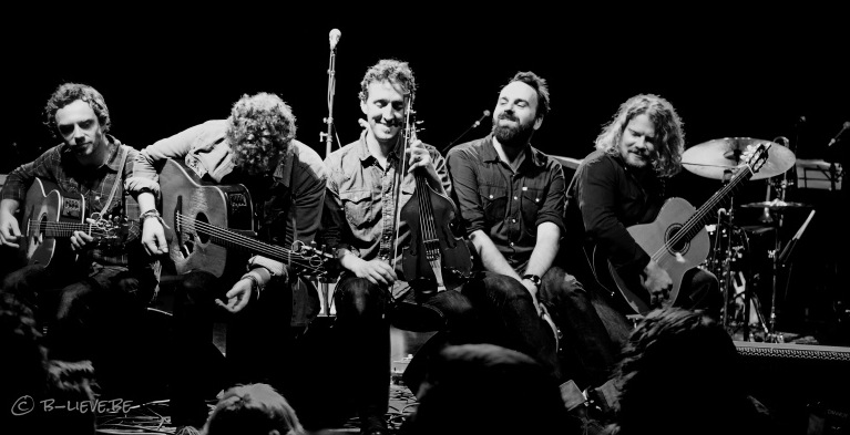 Rob hits the road again with Glen Hansard